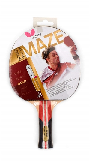 Michael Maze Gold Butterfly bordtennisbat