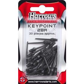 Harrows Softip  Keypoint spidser, 30 stk