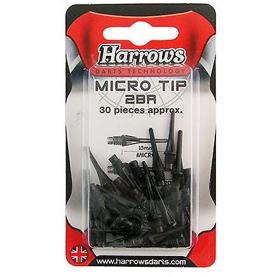 Harrows Softip Micro spidser, 30 stk.