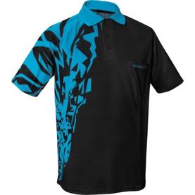 Harrows Rapide dart shirt - aqua/sort