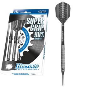 Supergrip 90% NT softip dartpile fra Harrows