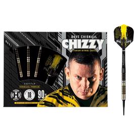 Chizzy 90% NT softip dartpile fra Harrows - 20 gram