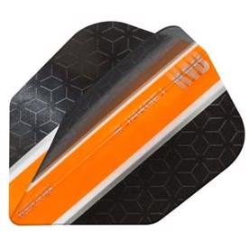 RVB Vision Ultra Black/orange flights