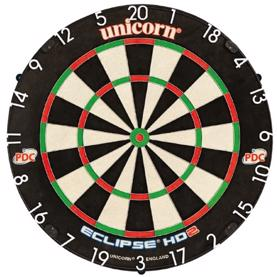 Eclipse HD2 PRO Bristle TV Edition dartskive