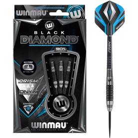 Winmau Black Diamond 90% NT steeltip dartpile - 23 & 25 gram