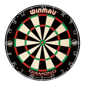 Diamond bristle dartskive fra Winmau