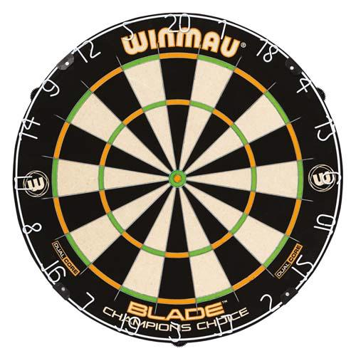 Champion Choice Dual Core bristle dartskive fra Winmau