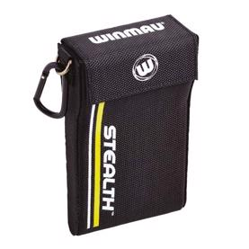 Winmau Stealth Yellow Dart Case